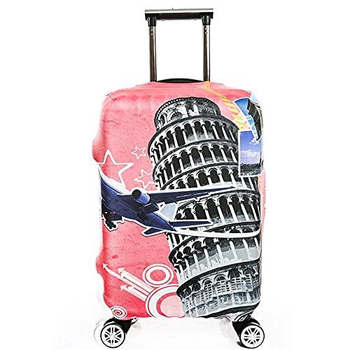 Funda para equipaje 18/24/28/32 pulgadas Pintura Protección para equipaje de viaje Fundas elásticas para equipaje Protección para maleta (Color: A, Tamaño: L (25 '' -28 ''))