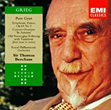 Grieg: Peer Gynt Incidental Music Symphonic Dance/Concert Overture 'In Autumn'/Old Norwegian Folksong with Variations