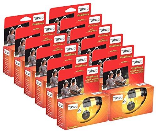 TopShot 400 Appareil Photo jetable avec Flash (Paquet de 12 Appareil Photo (27 Photos