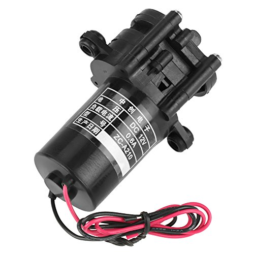 Hilitand ZC-A210 12V DC Zahnradpumpe Mini Kunststoff selbstansaugende Wasserpumpe Hohe Effizienz