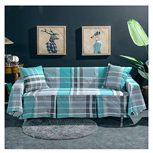 GELing Elástico 3 Cojín Sofá Cover Lavable Antideslizante Slipcovers para sillas y Sofás 1 Pieza,1,Dos Plazas