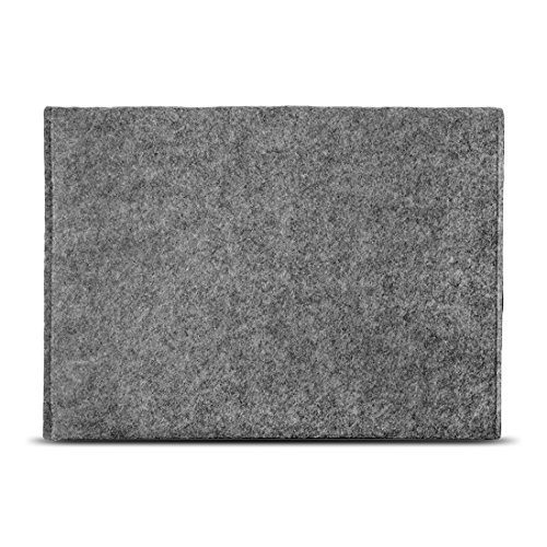 NAUC Laptop Tasche Hülle kompatibel für Lenovo ThinkPad T14 T14i T14s Filz Sleeve Schutzhülle Notebook Case 14 Zoll Cover Schutz, Farbe:Grau