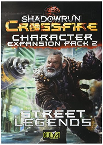 Catalyst Game Labs CAT27704 Kartenspiel Shadowrun: Crossfire Character Expansion Pack 2