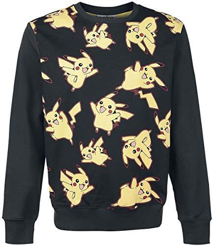 Pokemon Pikachu - Allover Pull noir L