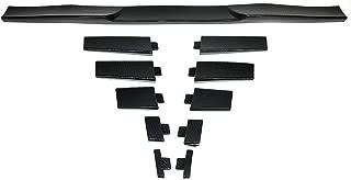 Trunk Spoiler Universal Fitment | Adjustable Carbon Fiber Look Roof Spoiler Deck Lip Wing Boot Lid By IKON MOTORSPORTS
