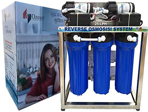Ozean 25 Lph Commercial RO Water Purifier with Auto Shut-Off Sensor