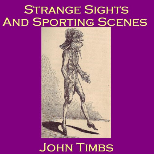 Strange Sights and Sporting Scenes audiobook cover art