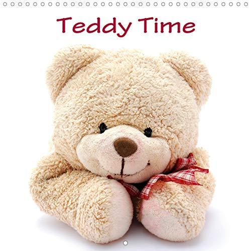 Teddy Time (Wall Calendar 2021 300 × 300 mm Square)
