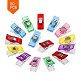 Clips De Coser De Plástico, Para Coser Acolchados Crafting Wonder Clips Accesorios De Acolchado (50PCS)