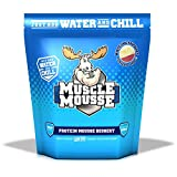 Muscle Mousse – High Protein Dessert Mix, Slow Release & Gluten Free   Perfect Sweet Treat, Easy to Make, 750g (15 Servings) (White Chocolate Raspberry)