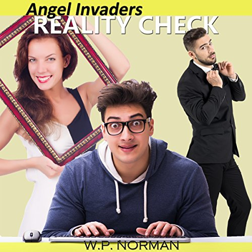 Angel Invaders: Reality Check audiobook cover art