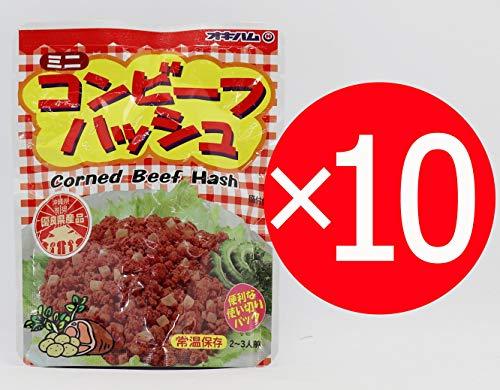 オキハムのコンビーフハッシュパウチ 75g×10袋