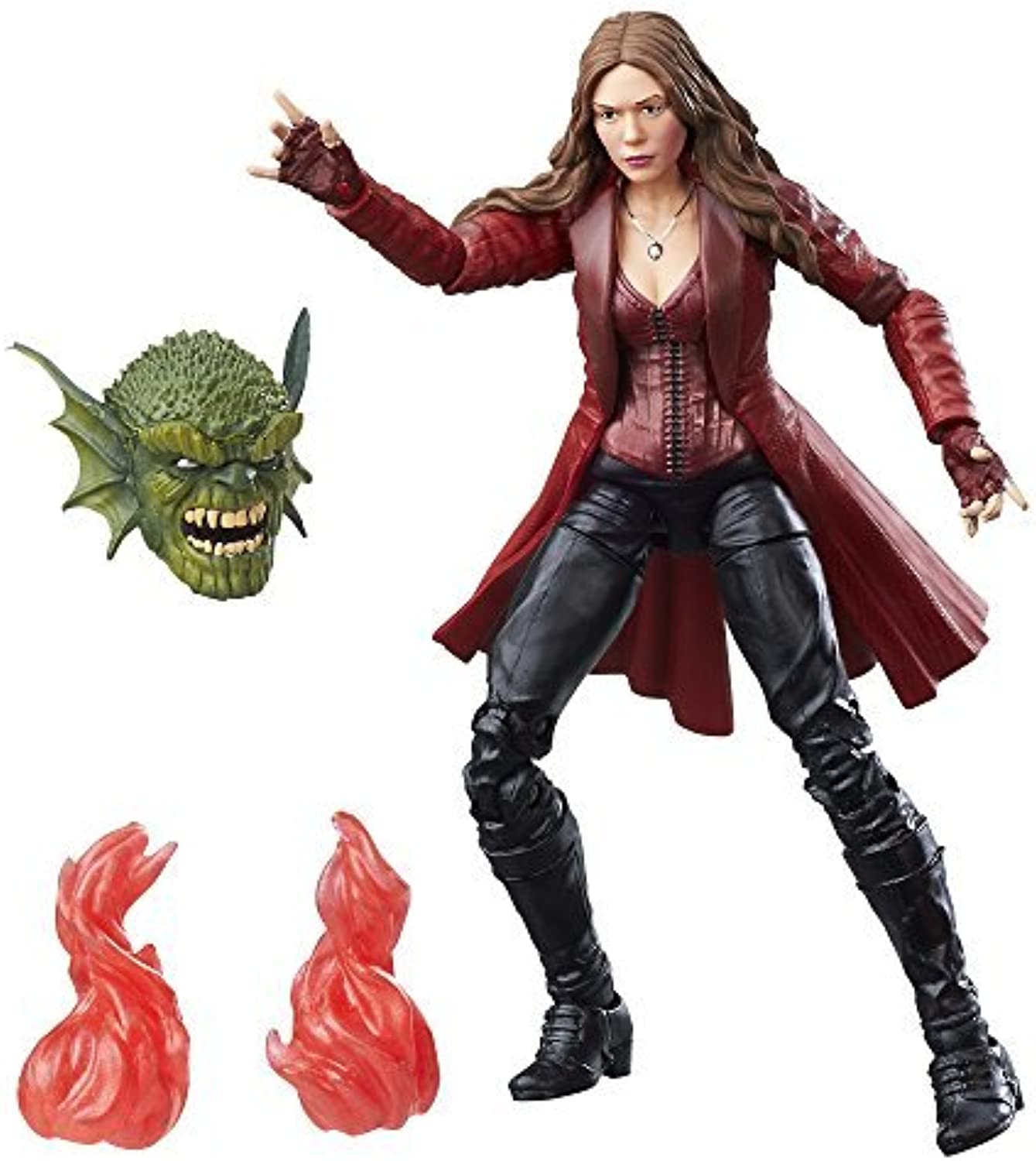 Captain America scarlet witch Action Figure built abomination by Captain america
