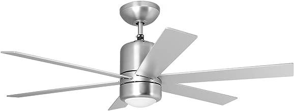 Orbegozo CP 50120 – Ventilador de techo con luz y mando a distancia, 6 palas, 120 cm de diámetro, potencia de 60 W y 3 velocidades