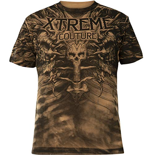 Xtreme Couture by Affliction T-Shirt Charred Remain Braun, M