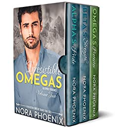 Irresistible Omegas Volume Two: an Mpreg Romance (Irresistible Omegas Box Sets Book 2) by [Nora Phoenix]