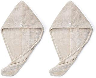 Dry Hair Cap Super Absorbent, Quick-Drying Female Cute Vibrating Shower Cap, Hair Artifact, Toe Cap, Towel, Hair Towel (Color : C, 款式Style : 2)