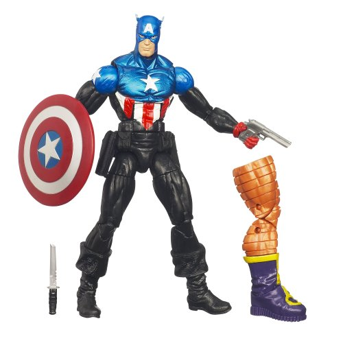 Marvel Legends – Armin Zola Series – Captain America – Figurine 15cm (Import Royaume-Uni)