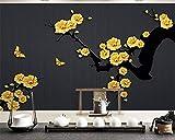 ZLYYH 3D Wallpaper Wandbild,Chinesische Klassische Gold