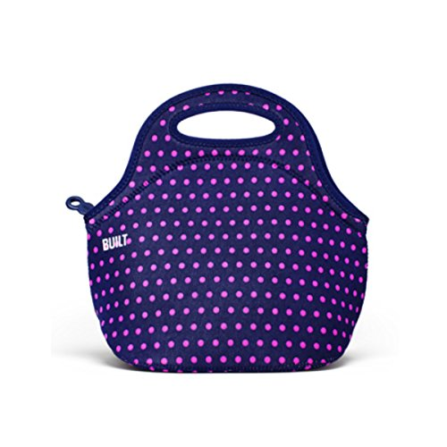 BUILT Mini Gourmet Getaway Lunch Tote, One Size, PURPLE