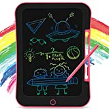 INKPOT LCD Drawing Tablet 10.5 Inch, Colorful Doodle Board Drawing Tablet for Kids,Erasable Reusable Writing Drawing Pad,Learning Educational Toy Gift for Children 3 4 5 6 7 8 9