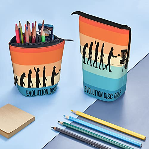Evolution^Disc^Golf^ Big Capacity Pencil Bag Pencil Case Office Stationery Cosmetic Bag Suitable For...