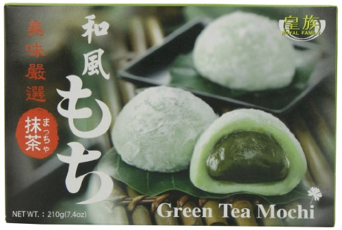 ROYAL FAMILY Mochi Grüner Tee, 210 g