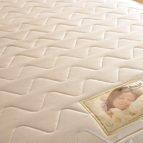 Deluxe Beds Ltd Micro Quilted Soft Touch Mattress - 3Ft6 Large Single