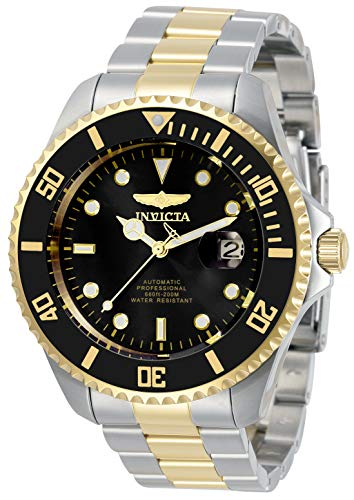 Invicta Men's Pro Diver 47mm Stainless Steel Automatic Watch, Two Tone (Model: 34041)
