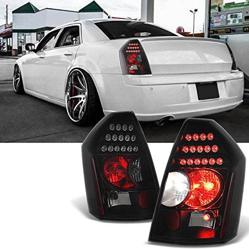 Chrysler 300 2006 Black Led Tail Lights: Taillights For Chrysler 300: Amazon.com