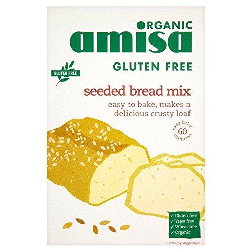 Amisa Glutine Organico Pane Seminato Gratis Mix 500g