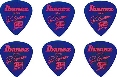 Ibanez B1000PG-JB Plektren Signature Modelle Paul Gilbert (6 Stück) blau