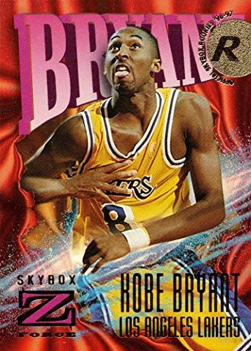 1996-97 Fleer Skybox Z Force Basketball #142 Kobe Bryant Rookie Card - Lakers
