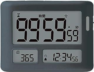 ソニック タイマー トキ・サポ 100時間 めざせ合格カウントダウン グレー LV-3457-GL