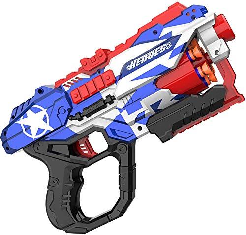 Blaster Spielzeugpistole, okk Spielzeugblaster mit 60 PCS Soft Foam Darts Tragbares, wettbewerbsfähiges Schießziel für Kinder Geburtstagsgeschenke Party Favors Handspielzeug für Kinder ab 6 Jahren