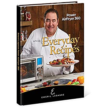 Emeril Lagasse Everyday Recipes for the Power AirFryer 360 1732216177 Book Cover