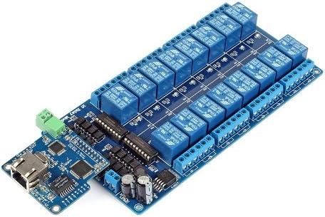 Sainsmart Imatic 16 Kanäle Wifi Relais I O Controller Für Arduino Android Ios Wifi Controller 16 Ch Relais Gewerbe Industrie Wissenschaft