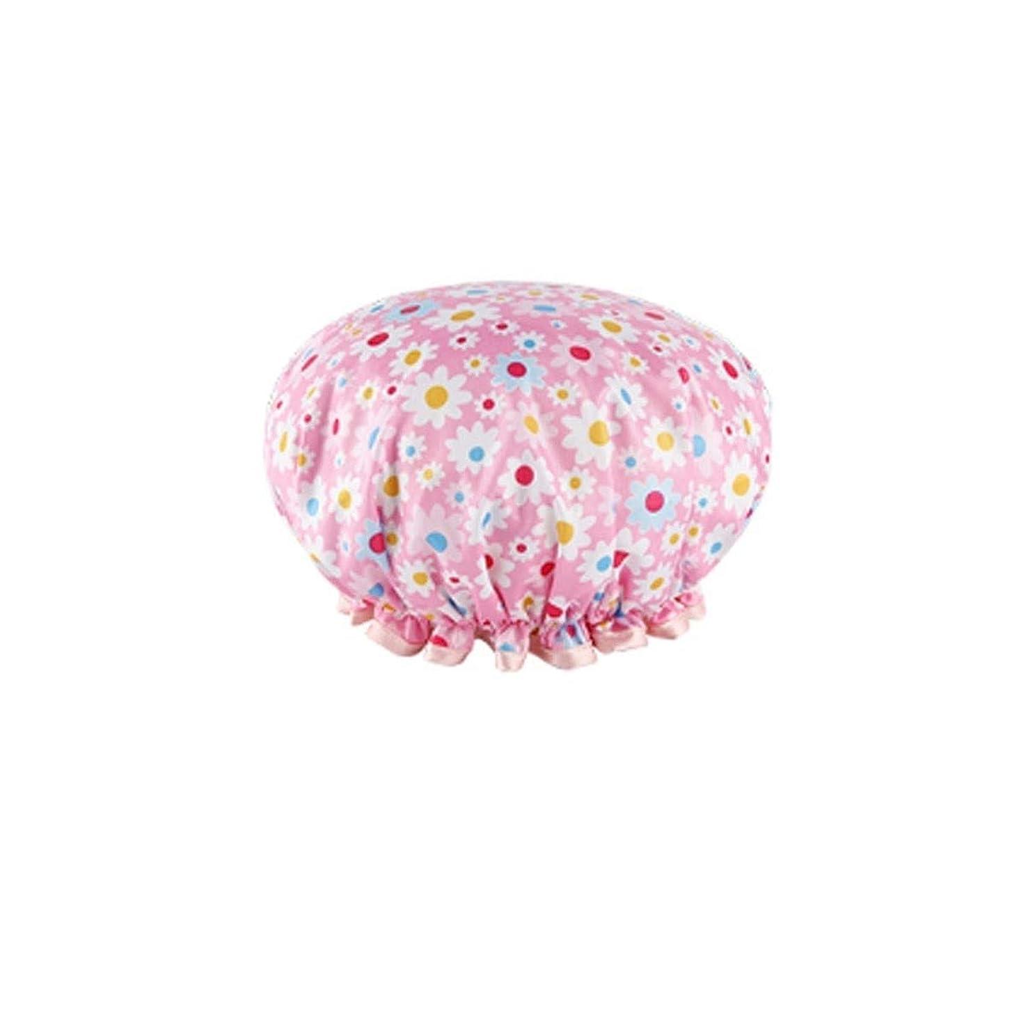 マーク亡命ペデスタルJIAOJIEB 、髪は特別な女性モデル マスク、帽子女性、防水シャワーお風呂フード、大人アンチヒュームキッチンハットシャワー、キャップシャワー シンプルで実用的な製品 (Color : A6)