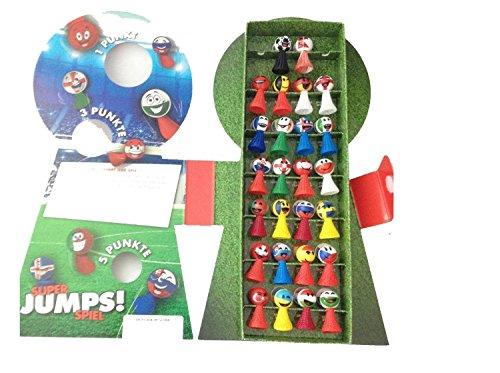 Kaufland Jumpers Komplett-Set inkl. Sammelalbum und allen 26 Jumper-Figuren in Sammelbox Sammelordner Fußball EM EURO 2016 Sammelaktion Deutschland