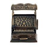 QinWenYan Juguetes de Caja Registradora Vintage Cash Register Modelo 1/12 Miniatures Miniatures Accesorios Juguetes para Niños (Color : As Shown, Size : 30x16x13cm)