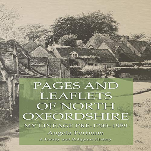 Page de couverture de Pages and Leaflets of North Oxfordshire