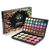 Set de paleta de sombras de ojos, sombra de ojos de 40 colores + paleta de colorete y corrector de 15 colores Set de cosmético de belleza facial Set de maquillaje altamente pigmentado Por filfeel