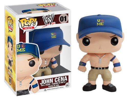 Funko Pop!- Vinyl: WWE: John Cena Blue Cap (3414)
