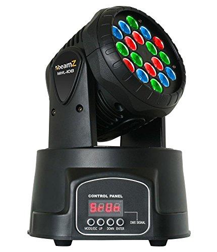 Beamz 150509–Kopf Handy mhl-108Wash 18x 3W 12DMX-Kanäle