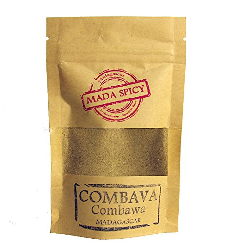 Combava (kaffir lime) polvere di Madagascar 100g. Primissima qualità. Bustina richiudibile.