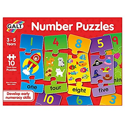 Galt Toys Number Puzzles from James Galt & Company Ltd