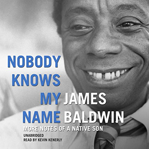 Nobody Knows My Name audiobook cover art