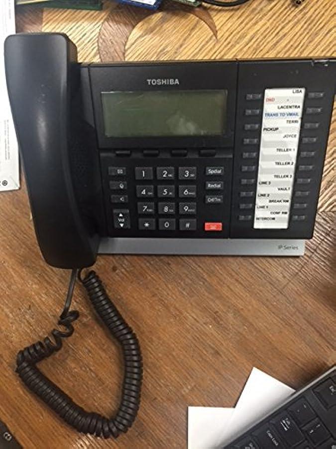 ドキュメンタリー賠償輝度Toshiba ip5132-sd IP電話W /受話器