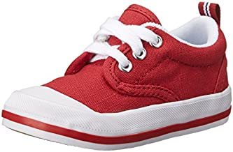 Keds boys Graham fashion sneakers, Red, 7 Wide Toddler US