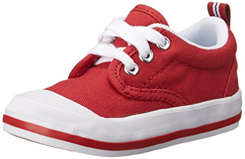 Keds boys Graham fashion sneakers, Red, 6 Toddler US